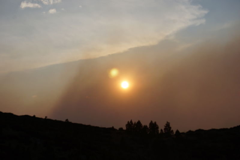 Western Canada music festivals and forest fire smoke